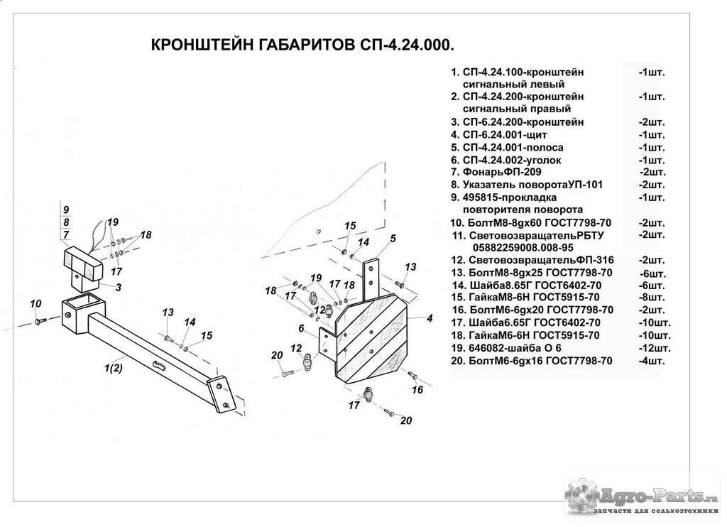 kronshteiyngabaritov spu-3,4.